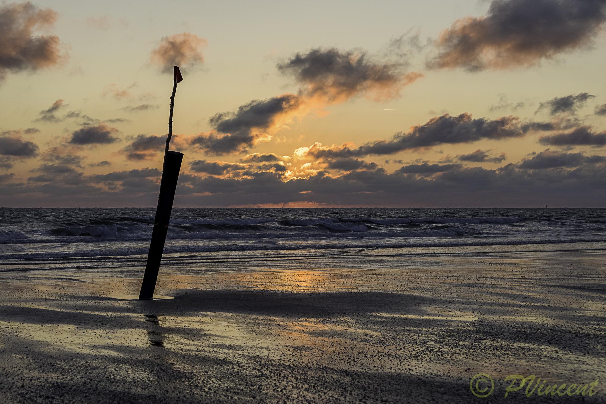 Norderney Sonnen Untergang-